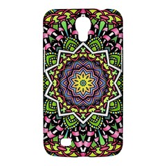 Psychedelic Leaves Mandala Samsung Galaxy Mega 6 3  I9200 Hardshell Case by Zandiepants