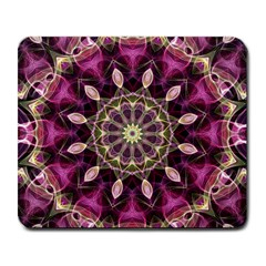 Purple Flower Large Mouse Pad (rectangle)