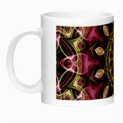 Purple Flower Glow In The Dark Mug by Zandiepants