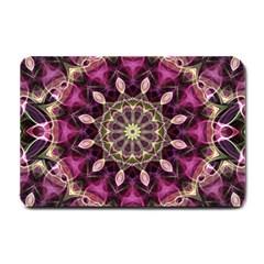 Purple Flower Small Door Mat by Zandiepants