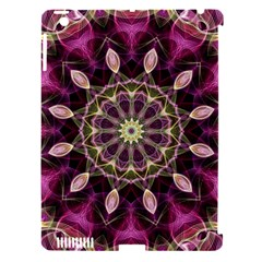 Purple Flower Apple Ipad 3/4 Hardshell Case (compatible With Smart Cover) by Zandiepants