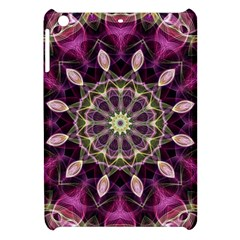 Purple Flower Apple Ipad Mini Hardshell Case by Zandiepants