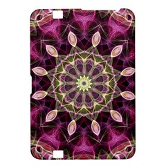 Purple Flower Kindle Fire Hd 8 9  Hardshell Case by Zandiepants