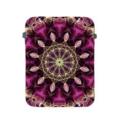 Purple Flower Apple Ipad Protective Sleeve by Zandiepants