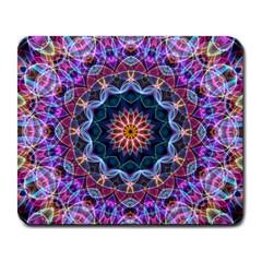 Purple Lotus Large Mouse Pad (rectangle) by Zandiepants