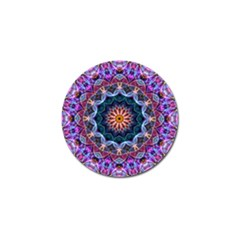 Purple Lotus Golf Ball Marker by Zandiepants