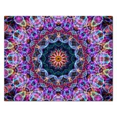 Purple Lotus Jigsaw Puzzle (rectangle) by Zandiepants