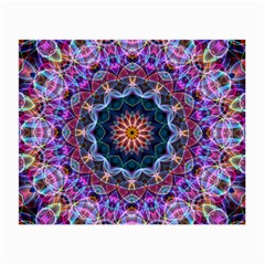 Purple Lotus Glasses Cloth (small) by Zandiepants