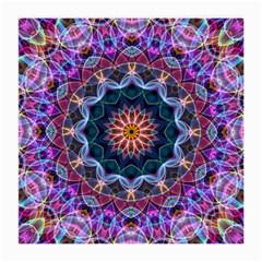 Purple Lotus Glasses Cloth (medium, Two Sided) by Zandiepants