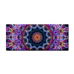 Purple Lotus Hand Towel by Zandiepants