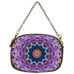 Purple Lotus Chain Purse (One Side) Front