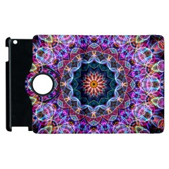 Purple Lotus Apple Ipad 2 Flip 360 Case by Zandiepants