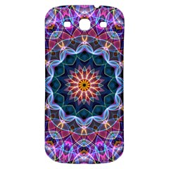 Purple Lotus Samsung Galaxy S3 S Iii Classic Hardshell Back Case by Zandiepants