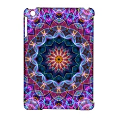 Purple Lotus Apple iPad Mini Hardshell Case (Compatible with Smart Cover) by Zandiepants