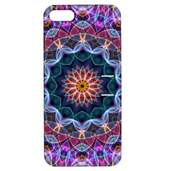 Purple Lotus Apple Iphone 5 Hardshell Case With Stand by Zandiepants