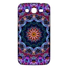 Purple Lotus Samsung Galaxy Mega 5 8 I9152 Hardshell Case  by Zandiepants