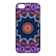 Purple Lotus Apple Iphone 5c Hardshell Case by Zandiepants