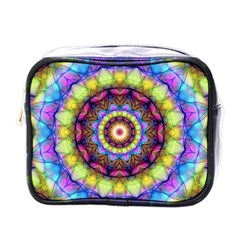 Rainbow Glass Mini Travel Toiletry Bag (one Side) by Zandiepants