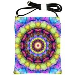 Rainbow Glass Shoulder Sling Bag