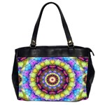 Rainbow Glass Oversize Office Handbag (Two Sides) Front