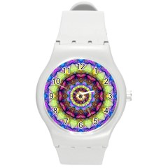 Rainbow Glass Plastic Sport Watch (medium) by Zandiepants