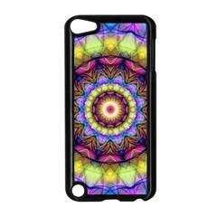 Rainbow Glass Apple Ipod Touch 5 Case (black) by Zandiepants