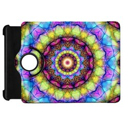 Rainbow Glass Kindle Fire Hd 7  (1st Gen) Flip 360 Case by Zandiepants