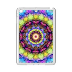 Rainbow Glass Apple Ipad Mini 2 Case (white) by Zandiepants
