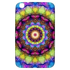 Rainbow Glass Samsung Galaxy Tab 3 (8 ) T3100 Hardshell Case  by Zandiepants
