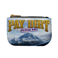 Pay Dirt   Player Bag   Purple By Rainer Ahlfors   Mini Coin Purse   Ylwogjanowbb   Www Artscow Com Front