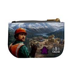 Pay Dirt   Player Bag   Purple By Rainer Ahlfors   Mini Coin Purse   Ylwogjanowbb   Www Artscow Com Back