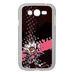 Flower Samsung Galaxy Grand DUOS I9082 Case (White) by Rbrendes