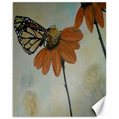 Monarch Canvas 11  x 14  (Unframed) by rokinronda