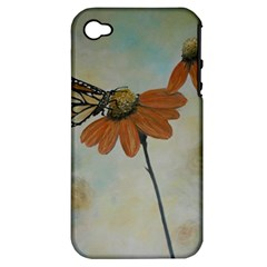 Monarch Apple Iphone 4/4s Hardshell Case (pc+silicone) by rokinronda