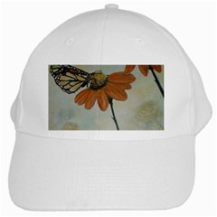 Monarch White Baseball Cap by rokinronda