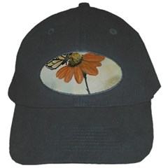 Monarch Black Baseball Cap by rokinronda