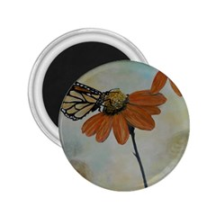 Monarch 2 25  Button Magnet by rokinronda