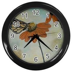 Monarch Wall Clock (black) by rokinronda