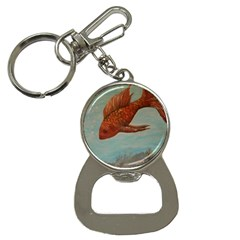 Gold Fish Bottle Opener Key Chain by rokinronda