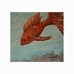 Gold Fish Canvas 24  X 36  (unframed) by rokinronda
