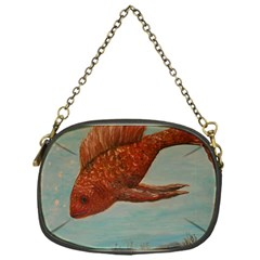 Gold Fish Chain Purse (one Side) by rokinronda