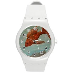 Gold Fish Plastic Sport Watch (medium) by rokinronda