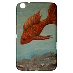 Gold Fish Samsung Galaxy Tab 3 (8 ) T3100 Hardshell Case  by rokinronda