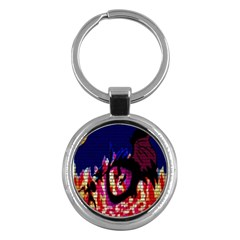 My Dragon Key Chain (Round) by Rbrendes