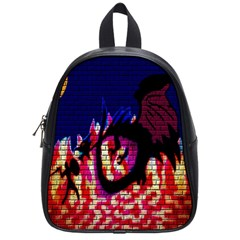My Dragon School Bag (small) by Rbrendes