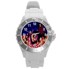 My Dragon Plastic Sport Watch (large) by Rbrendes