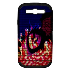 My Dragon Samsung Galaxy S Iii Hardshell Case (pc+silicone)
