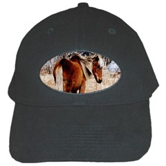 Pretty Pony Black Baseball Cap