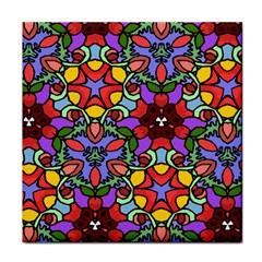 Bright Colors Face Towel