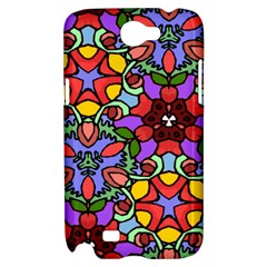 Bright Colors Samsung Galaxy Note 2 Hardshell Case by Rbrendes